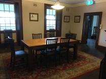 Upper dining room.