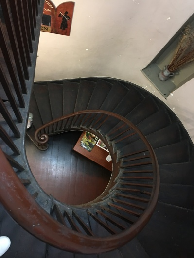 Lovely old creaky staircase.